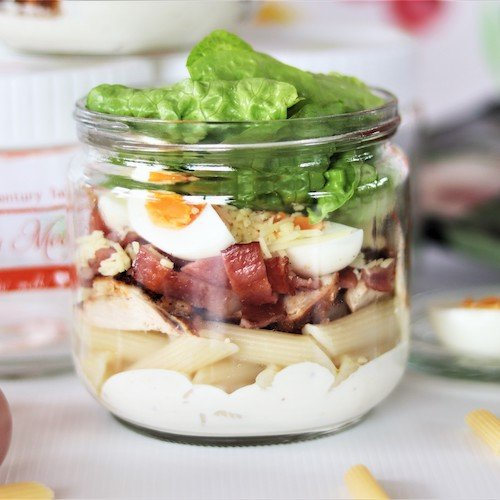 Healthy Meal Jar - Superb Ceasar with Pasta