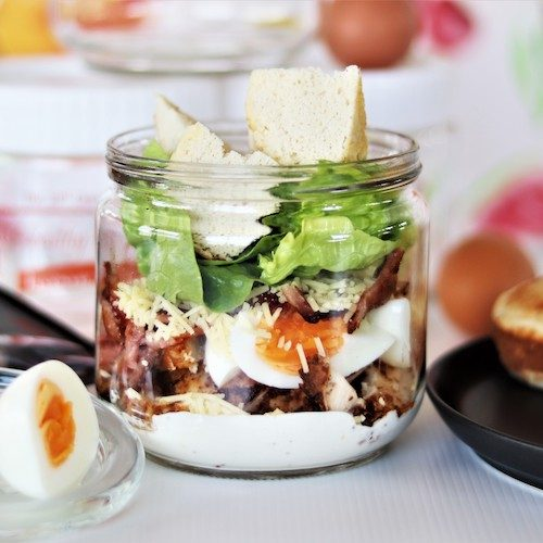 Healthy Meal Jar - Keto Superb Ceasar GF
