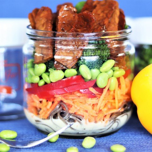 Healthy Meal Jar - Thai Delight Tempeh
